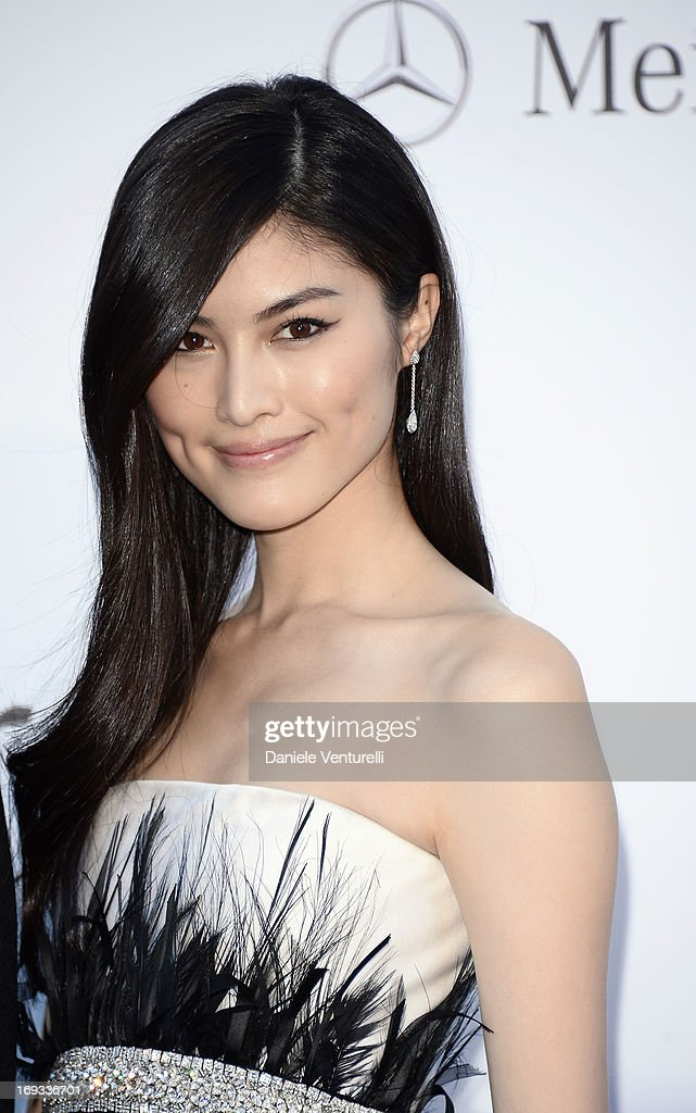 Model Sui He attends amfAR's 20th Annual Cinema Against AIDS during The 66th Annual Cannes Film Festival at Hotel du Cap-Eden-Roc on May 23, 2013 in Cap d'Antibes, France.