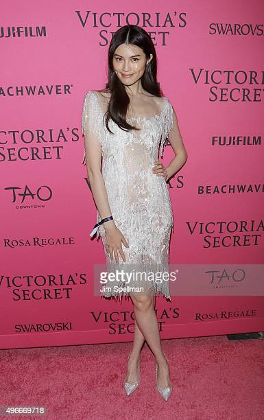 Model Sui He attends the 2015 Victoria's Secret Fashion Show after party at TAO Downtown on November 10 2015 in New York City