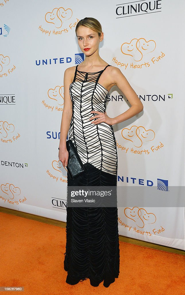 Model Svetlana Nemkova attends the 2012 Happy Hearts Fund Land Of Dreams: Mexico Gala at Metropolitan Pavilion on December 11, 2012 in New York City.