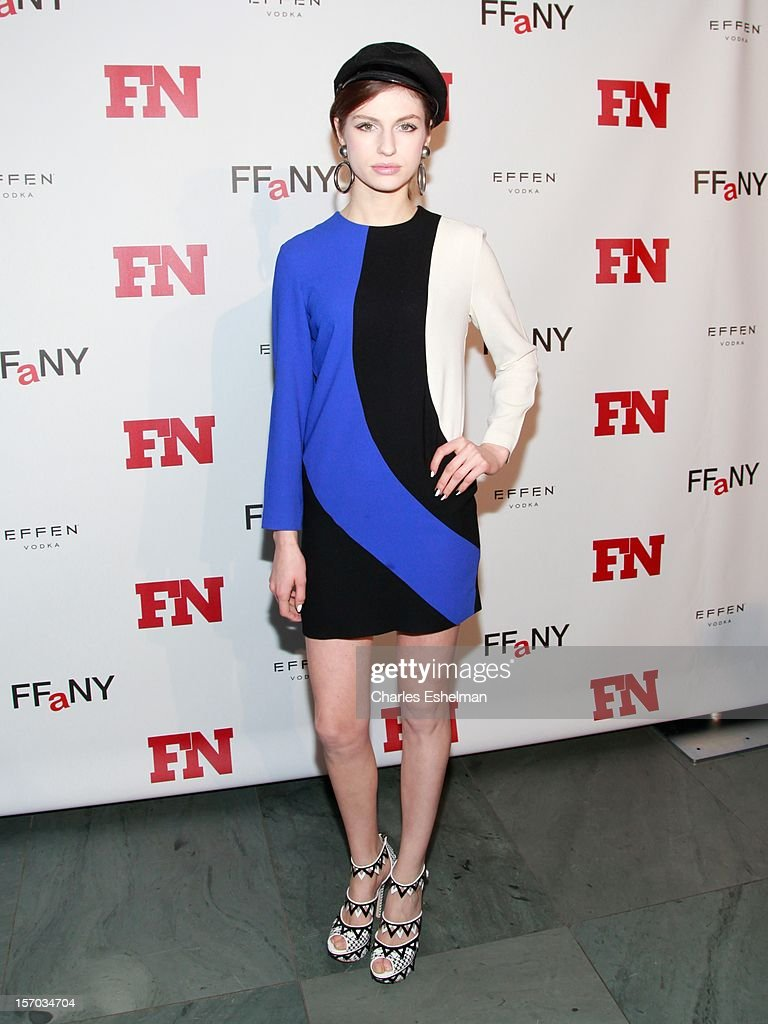 Model Tali Lennox attends the 2012 Footwear News Achievement awards at The Museum of Modern Art on November 27, 2012 in New York City.