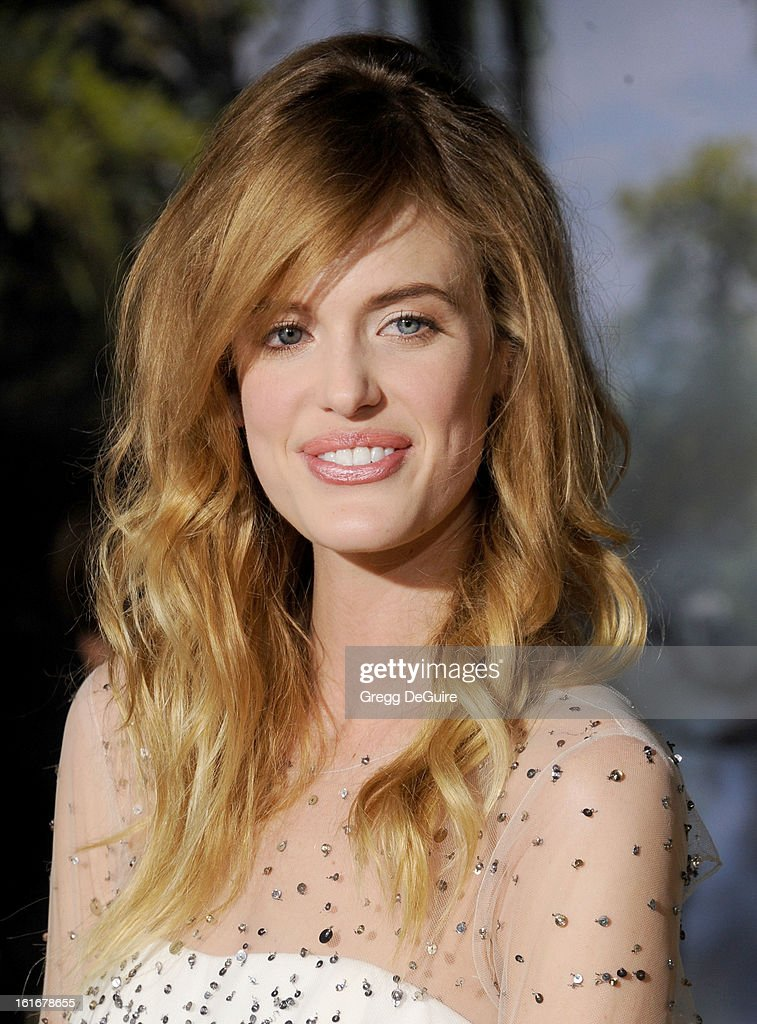 Model Taylor Bagley arrives at the Los Angeles premiere of 'Oz The Great and Powerful' at the El Capitan Theatre on February 13, 2013 in Hollywood, California.