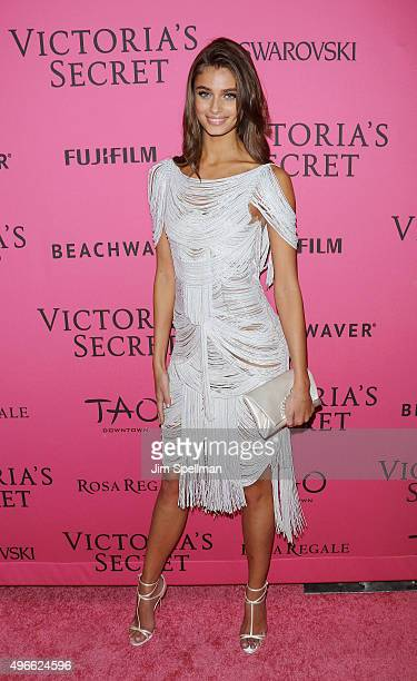 Model Taylor Hill attends the 2015 Victoria's Secret Fashion Show after party at TAO Downtown on November 10 2015 in New York City