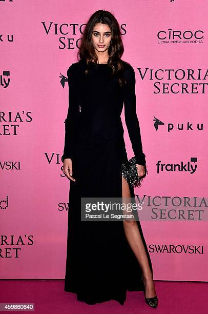 Model Taylor Hill attends the after party for the annual Victoria's Secret fashion show at Earls Court on December 2 2014 in London England