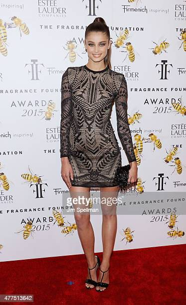 Model Taylor Marie Hill attends the 2015 Fragrance Foundation Awards at Alice Tully Hall at Lincoln Center on June 17 2015 in New York City