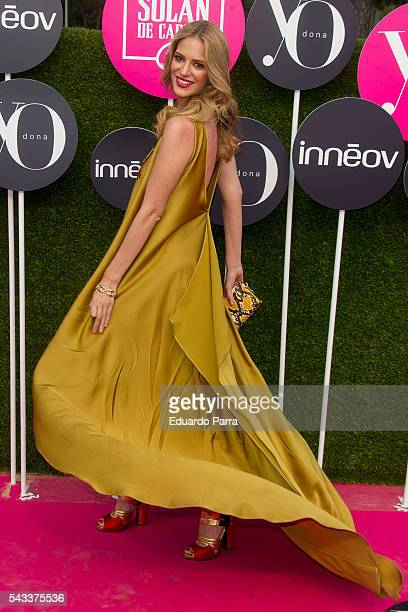 Model Teresa Baca attends the 'Yo Dona' international awards at La Quinta de la Munoza on June 27 2016 in Madrid Spain