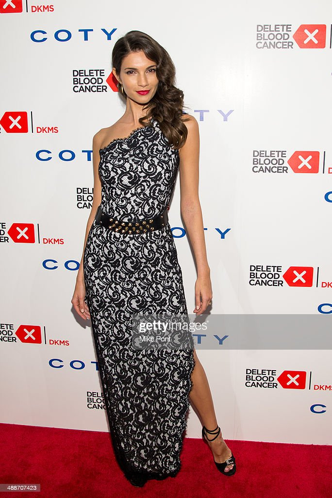 Model <a gi-track='captionPersonalityLinkClicked' href=/galleries/search?phrase=Teresa+Moore&family=editorial&specificpeople=3113579 ng-click='$event.stopPropagation()'>Teresa Moore</a> attends the 2014 Delete Blood Cancer Gala at Cipriani Wall Street on May 7, 2014 in New York City.
