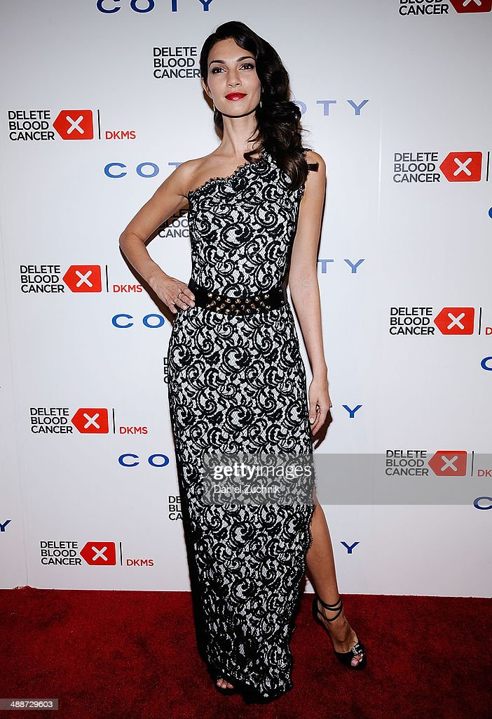 Model Teresa Moore attends the 2014 Delete Blood Cancer Gala at Cipriani Wall Street on May 7, 2014 in New York City.
