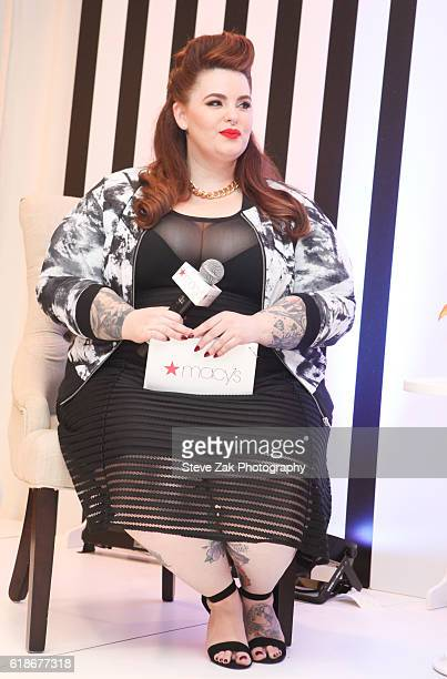 Model Tess Holliday visits Macy's Herald Square on October 27 2016 in New York City