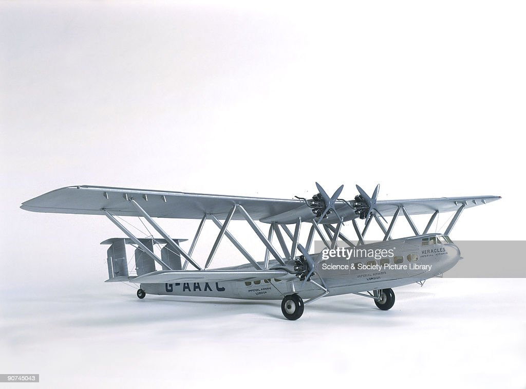 24). This four-engined biplane was operated by Imperial Airways between 1931 and 1939, flying to Europe, the Middle East and India. When introduced it was the largest airliner in regular use. Although slow, and obsolete by the 1930s, it was extremely safe. The eight aircraft in the fleet flew ten million miles without a fatality.