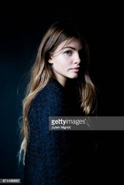Model Thylane Blondeau is photographed for Grazia Magazine on October 2015 in Paris France
