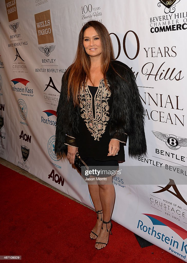 Model Tia Carrere attends the
