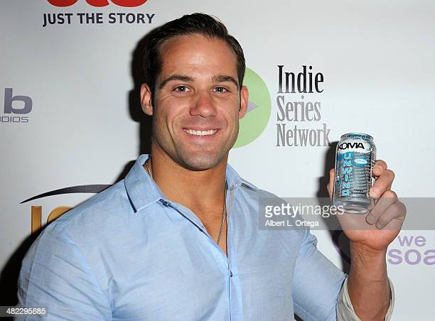 Model Todd Vinson attends 5th Annual Indie Series Awards held at El Portal Theatre on April 2 2014 in North Hollywood California
