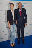 Model Toni Garrn and Ulrich Wickert attend the Ulrich Wickert Award for children's rights at Hamburger Bahnhof on October 9 2014 in Berlin Germany