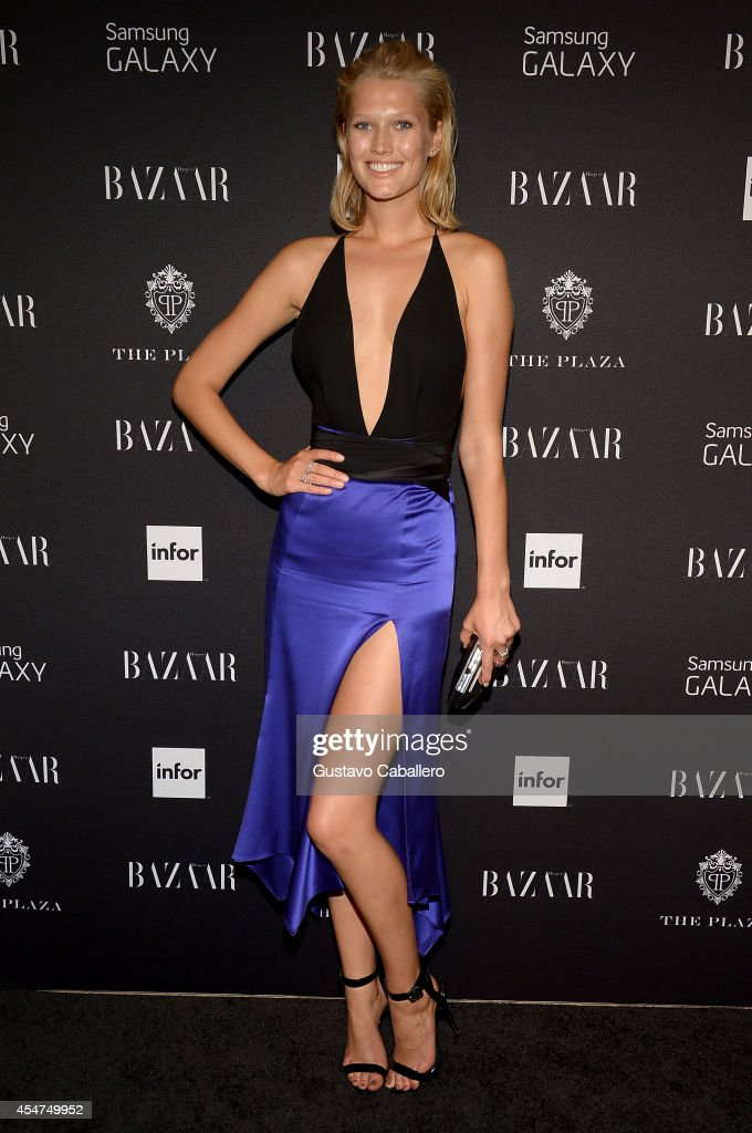 Model Toni Garrn attends Samsung GALAXY At Harper's BAZAAR Celebrates Icons By Carine Roitfeld at The Plaza Hotel on September 5 2014 in New York City