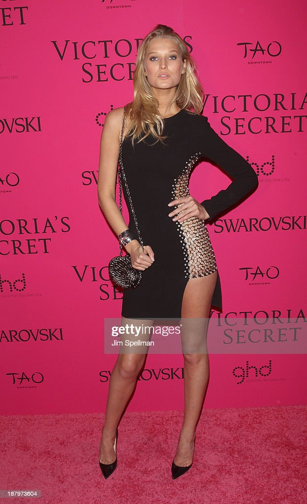 Model Toni Garrn attends the after party for the 2013 Victoria's Secret Fashion Show at TAO Downtown on November 13, 2013 in New York City.