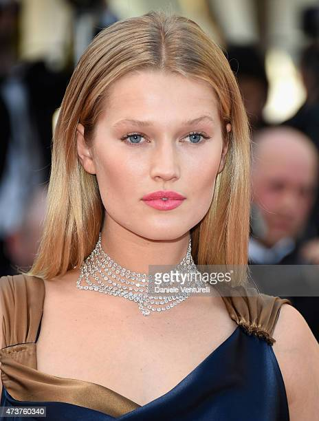 Model Toni Garrn attends the 'Carol' Premiere during the 68th annual Cannes Film Festival on May 17 2015 in Cannes France