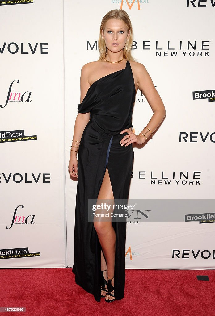 Model Toni Garrn attends The Daily Front Row's Third Annual Fashion Media Awards at the Park Hyatt New York on September 10 2015 in New York City