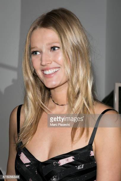 Model Toni Garrn attends the 'Vestiaire Collective x Toni Garrn' charity sale to benefit TGarrn Foundation on November 16 2017 in Paris France