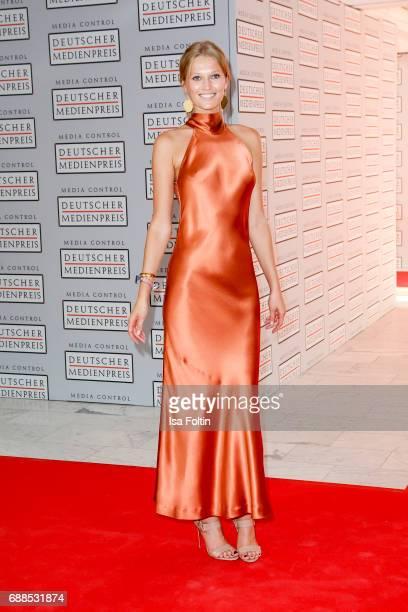 Model Toni Garrn during the German Media Award 2016 at Kongresshaus on May 25 2017 in BadenBaden Germany The German Media Award has been presented...