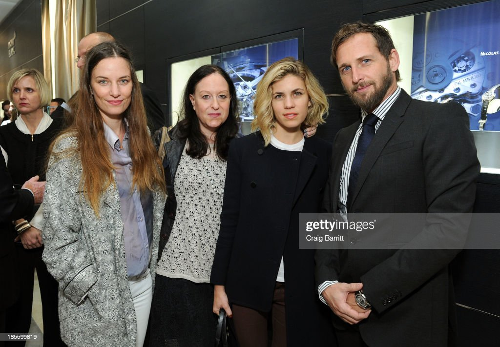 Model Topaz Page-Green, Lisa Raden, Senior Director of Sales at Reed Krakoff Bianca Duenas and actor <a gi-track='captionPersonalityLinkClicked' href=/galleries/search?phrase=Josh+Lucas&family=editorial&specificpeople=216514 ng-click='$event.stopPropagation()'>Josh Lucas</a> attend Montblanc celebrates Madison Avenue Boutique Opening at Montblanc Boutique on Madison Avenue on October 22, 2013 in New York City.