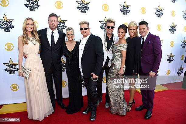 Model Tracy Ripsin TV personality/retired NFL player Troy Aikman Tara LeVox recording artists Gary LeVox and Joe Don Rooney of music group Rascal...
