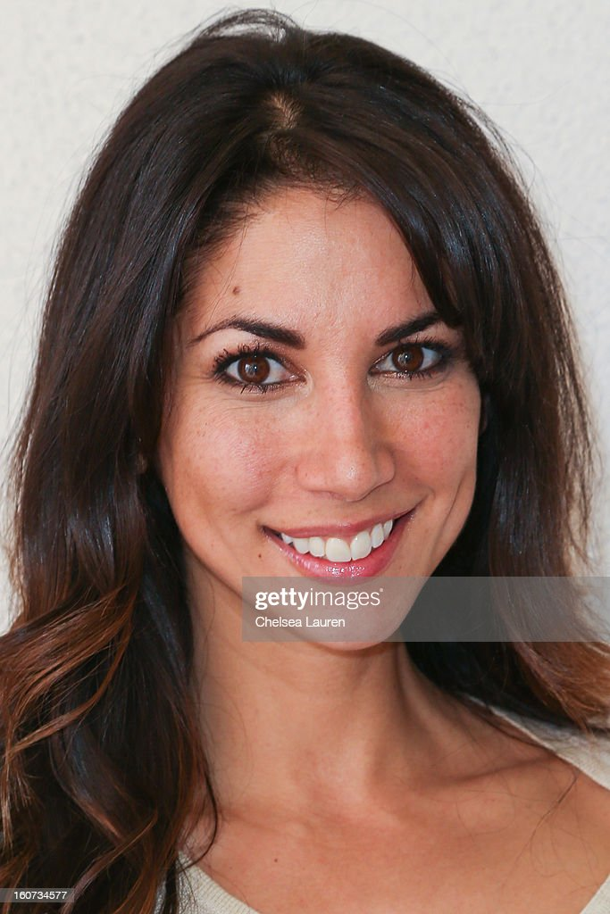 Model / tv personality Leilani Dowding attends anti-human trafficking family charity luncheon in support of Unlikely Heroes at Veggie Grill on February 4, 2013 in Los Angeles, California.