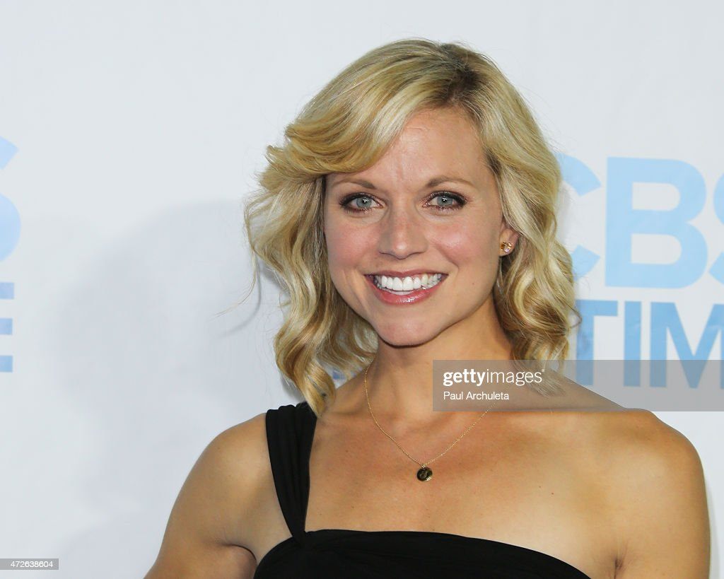 Model / TV Personality Tiffany Coyne attends the CBS Daytime Emmy after party at The Hollywood Athletic Club on April 26, 2015 in Hollywood, California.