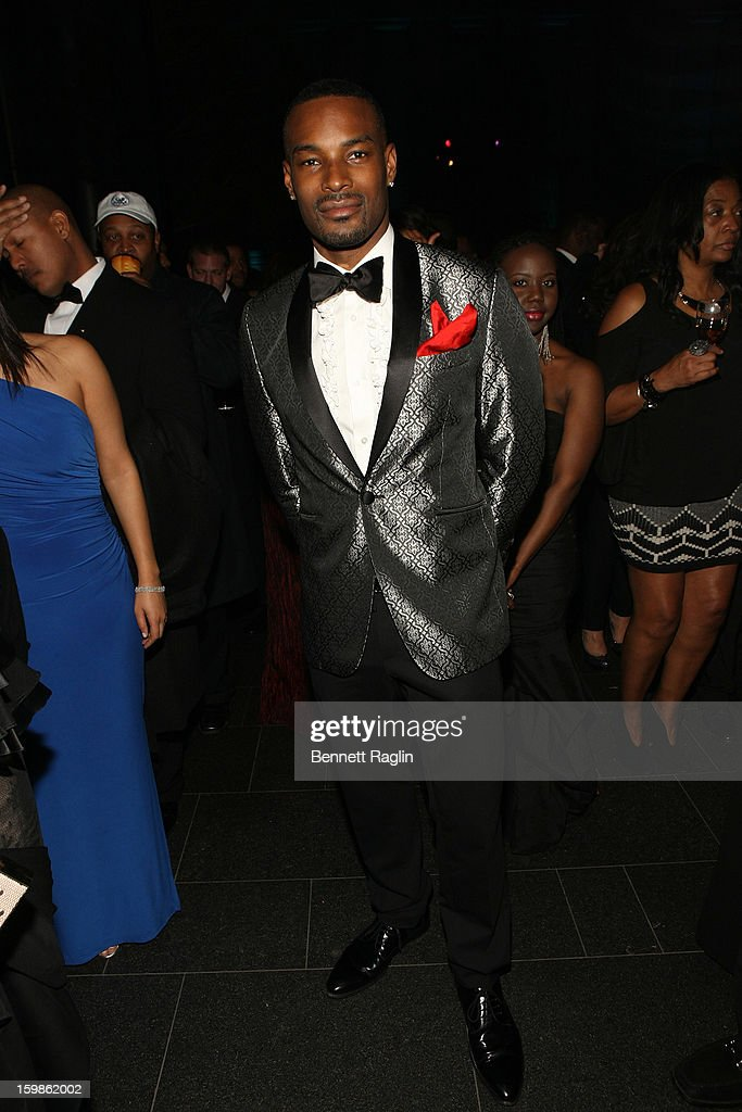 Model <a gi-track='captionPersonalityLinkClicked' href=/galleries/search?phrase=Tyson+Beckford&family=editorial&specificpeople=210873 ng-click='$event.stopPropagation()'>Tyson Beckford</a> attends the Inaugural Ball hosted by BET Networks at Smithsonian American Art Museum & National Portrait Gallery on January 21, 2013 in Washington, DC.