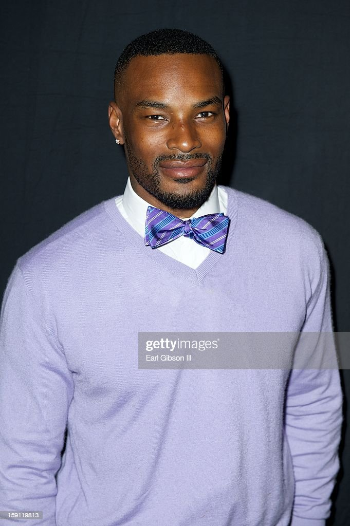 Model Tyson Beckford attends the Monster Press Conference at the Mandalay Bay Convention Center on January 7, 2013 in Las Vegas, Nevada.