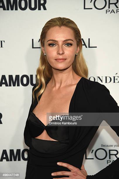 Model Valentina Zelyaeva attends 2015 Glamour Women Of The Year Awards at Carnegie Hall on November 9 2015 in New York City