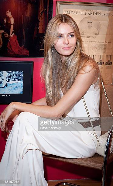 Model Valentina Zelyaeva attends Shop for a Cause at Use Your Head on April 26 2011 in New York City