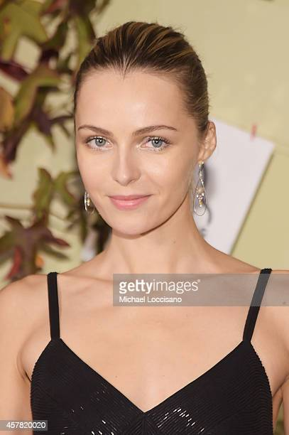 Model Valentina Zelyaeva attends the 2014 Lang Lang Friends Gala at United Nations on October 24 2014 in New York City