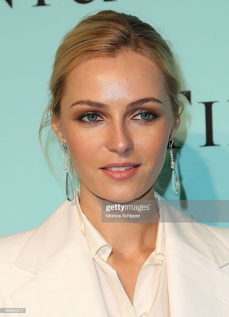 Model Valentina Zelyaeva attends the 2014 Tiffany's Blue Book Gala at the Guggenheim Museum on April 10 2014 in New York City