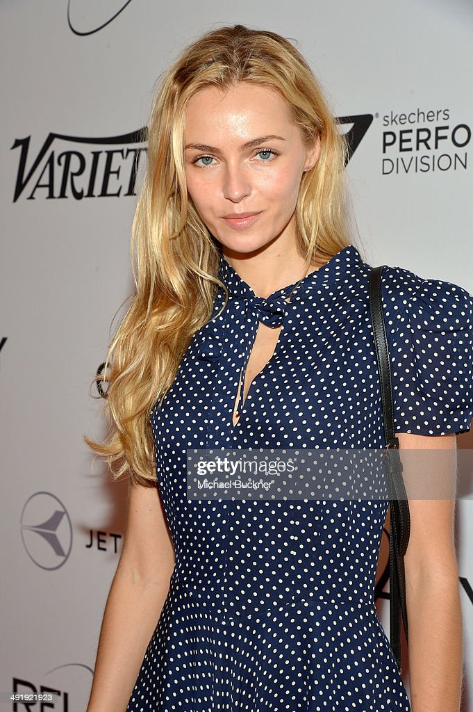 Model Valentina Zelyaeva attends the Relativity at 10 party at Hotel du CapEdenRoc on May 18 2014 in Cap d'Antibes France