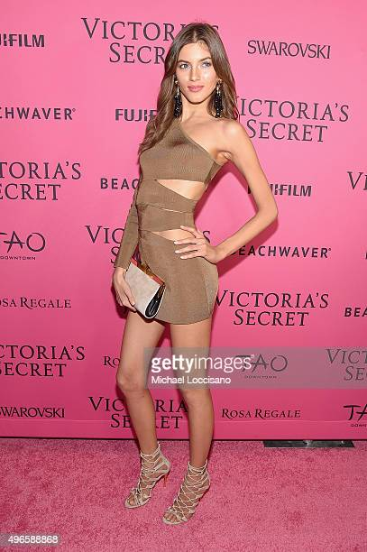Model Valery Kaufman attends the 2015 Victoria's Secret Fashion After Party at TAO Downtown on November 10 2015 in New York City