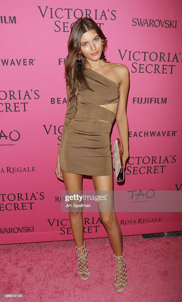 Model Valery Kaufman attends the 2015 Victoria's Secret Fashion Show after party at TAO Downtown on November 10, 2015 in New York City.