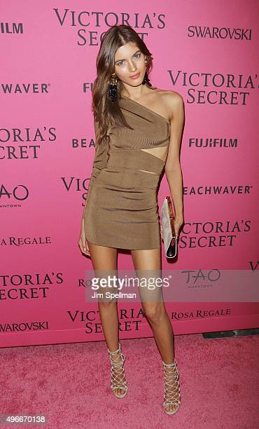 Model Valery Kaufman attends the 2015 Victoria's Secret Fashion Show after party at TAO Downtown on November 10 2015 in New York City