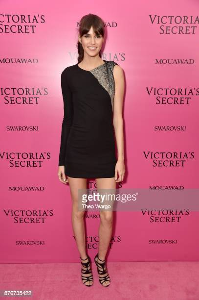 Model Vanessa Moody attends the 2017 Victoria's Secret Fashion Show In Shanghai After Party at MercedesBenz Arena on November 20 2017 in Shanghai...