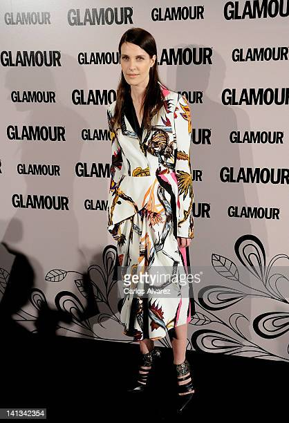 Model Vanessa Traina attends 'Glamour' beauty awards 2012 at Pacha Club on March 14 2012 in Madrid Spain