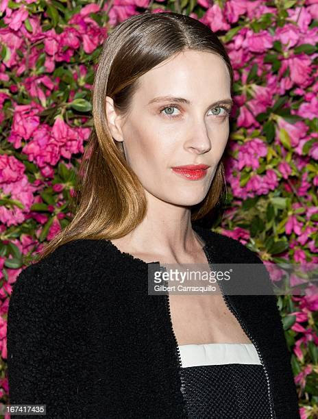 Model Vanessa Traina attends the 8th annual Chanel Artists Dinner during the 2013 Tribeca Film Festival at The Odeon on April 24 2013 in New York City
