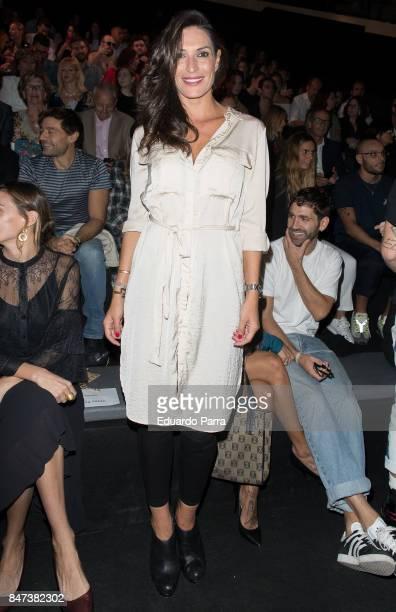 Model Veronica Hidalgo attends the Ulises Merida catwalk at Ifema on September 15 2017 in Madrid Spain
