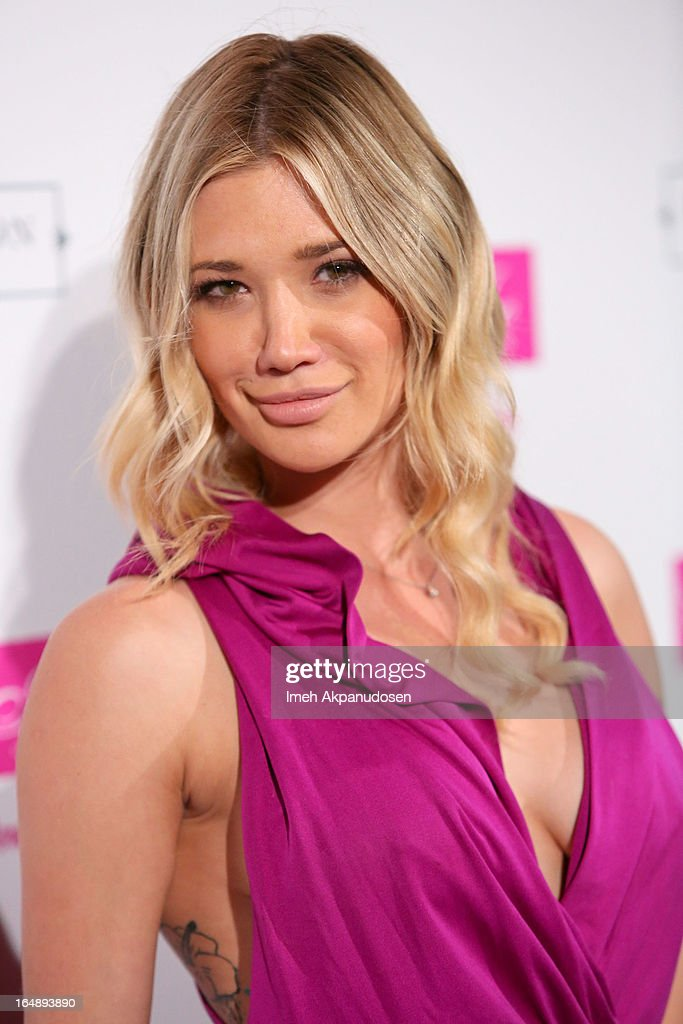 Model Victoria Rays attends the Fire & Ice Gala Benefiting Fresh2o at Lexington Social House on March 28, 2013 in Hollywood, California.