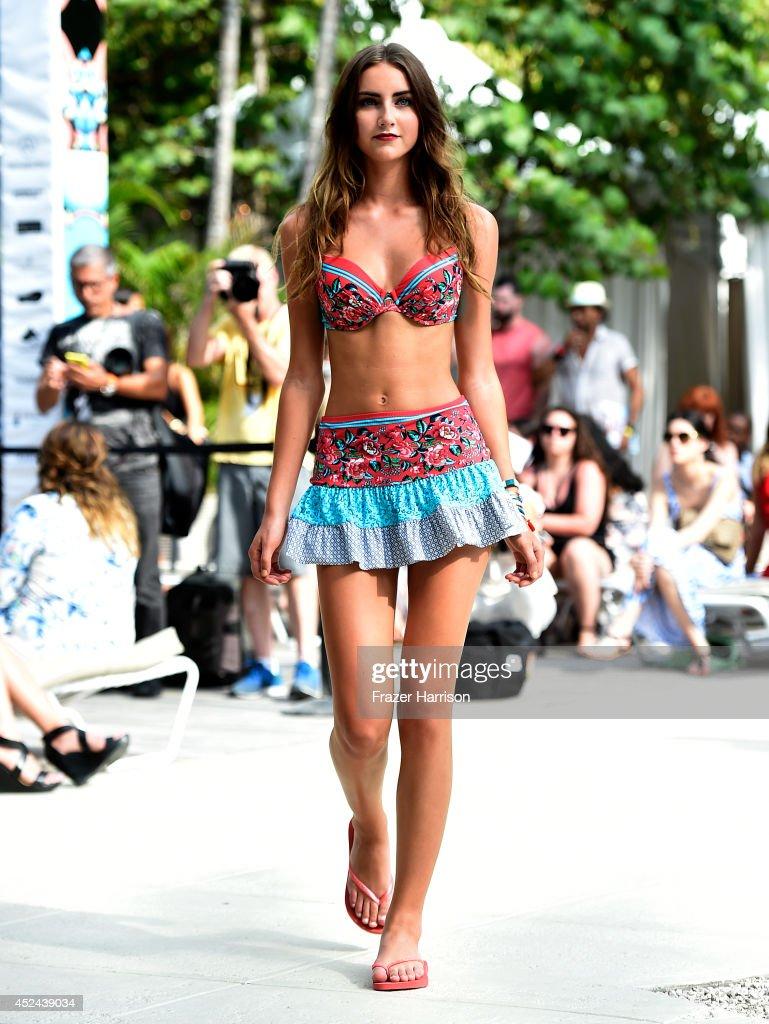 Profile & Blush By Gottex - Runway - Mercedes-Benz Fashion Week ...