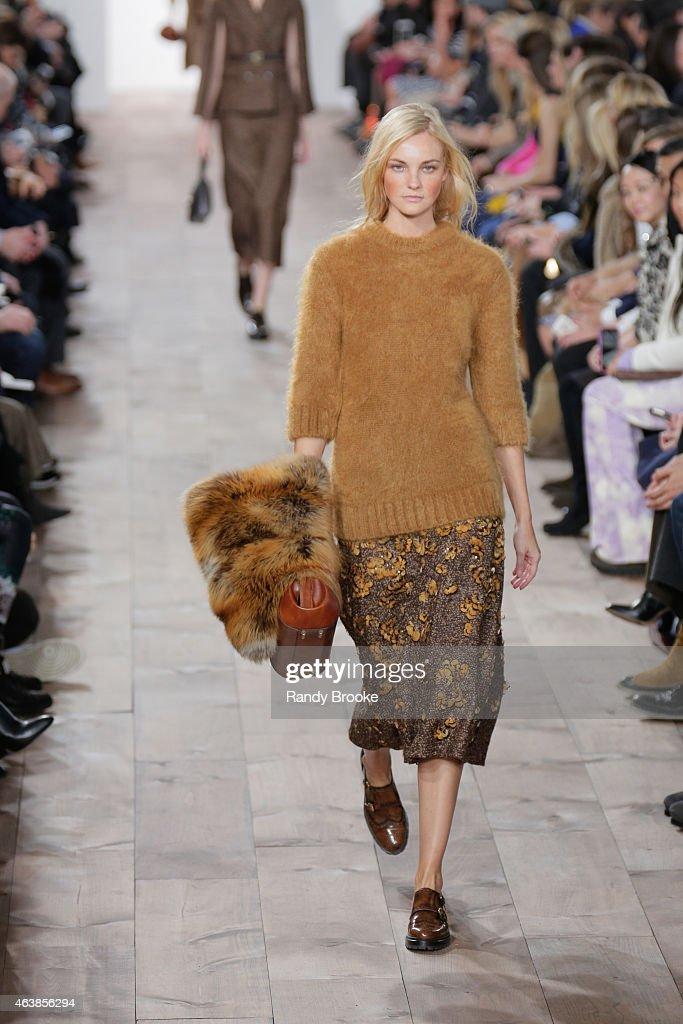 Michael kors runway mercedes benz fashion week fall for Mercedes benz of brooklyn new york