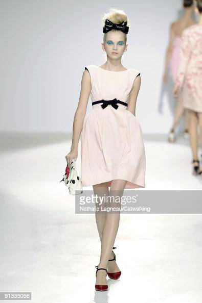 The catwalk during the luella fashion show as part of london fashion
