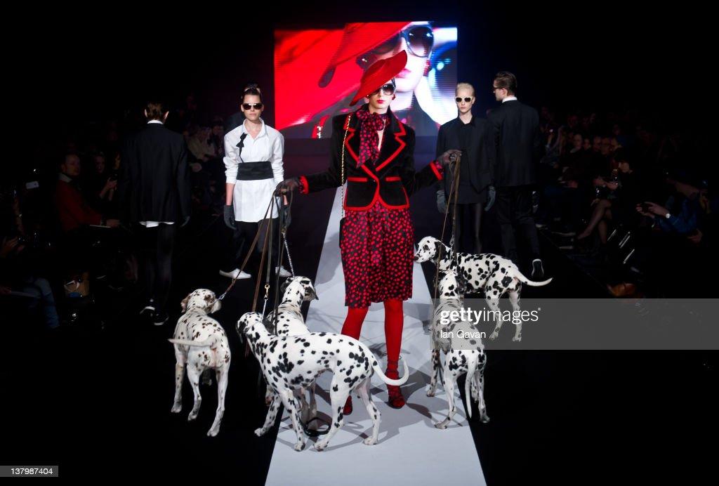 Mercedes Benz Fashion Week Stockholm A W 2012 Runway Getty Images