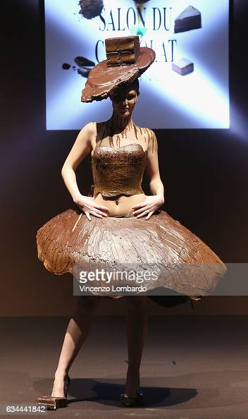 Salon du chocolat 2017 photos and images getty images - Salon du chocolat rodez ...