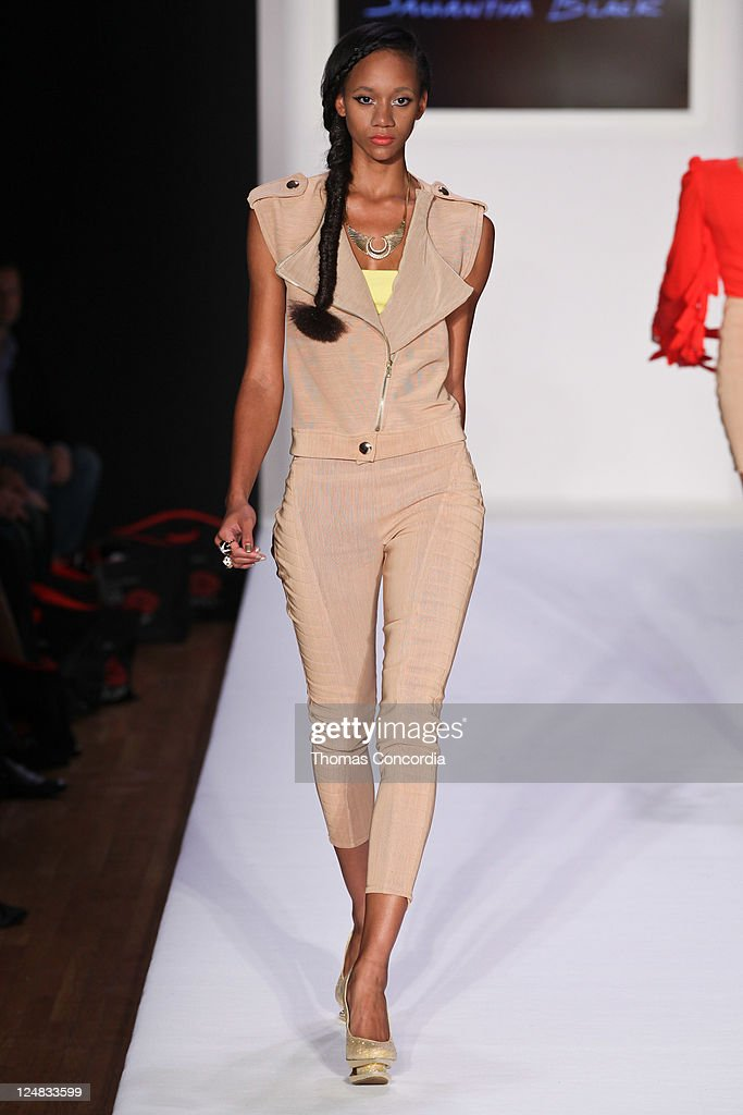 Presents Samantha Black Fashion Show Getty Images