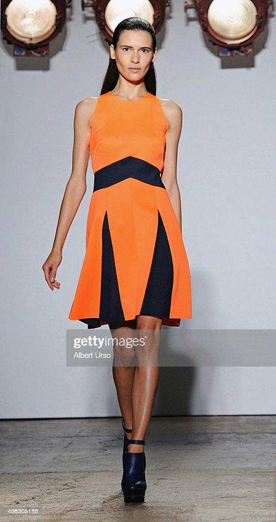Adeam runway mercedes benz fashion week spring 2015 for Mercedes benz fashion show