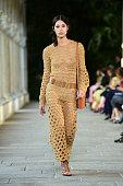 Alberta Ferretti - Runway - Milan Fashion Week - Spring...